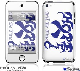 iPod Touch 4G Decal Style Vinyl Skin - Hope Eric
