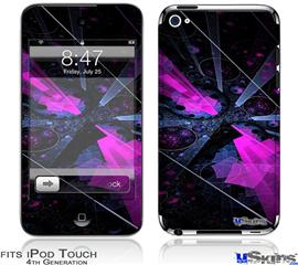 iPod Touch 4G Decal Style Vinyl Skin - Powergem