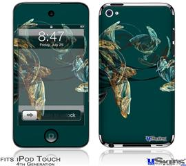 iPod Touch 4G Decal Style Vinyl Skin - Blown Glass