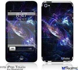 iPod Touch 4G Decal Style Vinyl Skin - Black Hole
