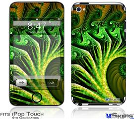 iPod Touch 4G Decal Style Vinyl Skin - Broccoli