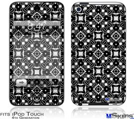 iPod Touch 4G Decal Style Vinyl Skin - Spiders