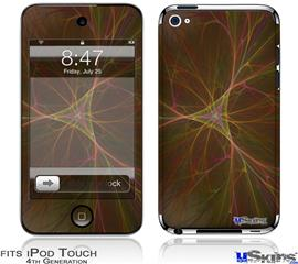 iPod Touch 4G Decal Style Vinyl Skin - Bushy Triangle