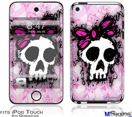 iPod Touch 4G Decal Style Vinyl Skin - Sketches 3