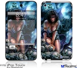 iPod Touch 4G Decal Style Vinyl Skin - Bride of Cthulhu