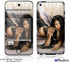 iPod Touch 4G Decal Style Vinyl Skin - Broken Halo