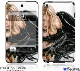 iPod Touch 4G Decal Style Vinyl Skin - Cat O Nine Tails