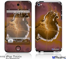 iPod Touch 4G Decal Style Vinyl Skin - Comet Nucleus