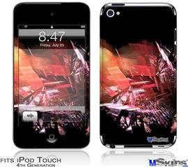 iPod Touch 4G Decal Style Vinyl Skin - Complexity