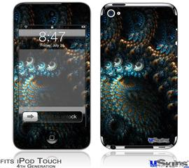 iPod Touch 4G Decal Style Vinyl Skin - Coral Reef