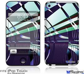 iPod Touch 4G Decal Style Vinyl Skin - Concourse