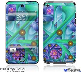 iPod Touch 4G Decal Style Vinyl Skin - Cell Structure