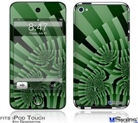iPod Touch 4G Decal Style Vinyl Skin - Camo