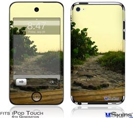 iPod Touch 4G Decal Style Vinyl Skin - Paths