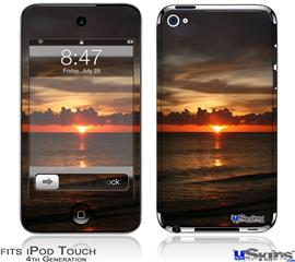 iPod Touch 4G Decal Style Vinyl Skin - Set Fire To The Sky