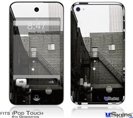 iPod Touch 4G Decal Style Vinyl Skin - Urban Detail