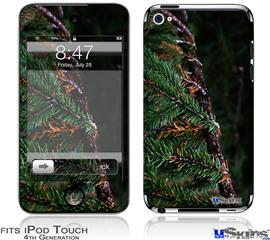 iPod Touch 4G Decal Style Vinyl Skin - Woodland