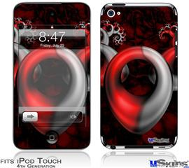 iPod Touch 4G Decal Style Vinyl Skin - Circulation