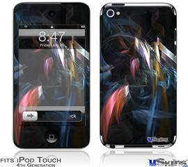 iPod Touch 4G Decal Style Vinyl Skin - Darkness Stirs