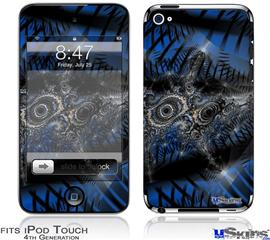 iPod Touch 4G Decal Style Vinyl Skin - Contrast