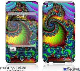 iPod Touch 4G Decal Style Vinyl Skin - Carnival