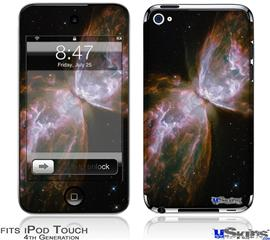 iPod Touch 4G Decal Style Vinyl Skin - Hubble Images - Butterfly Nebula