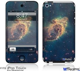 iPod Touch 4G Decal Style Vinyl Skin - Hubble Images - Carina Nebula Pillar