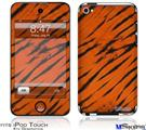 iPod Touch 4G Decal Style Vinyl Skin - Tie Dye Bengal Belly Stripes