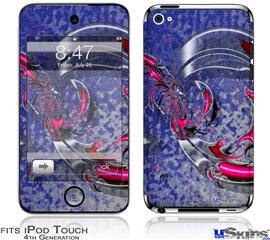 iPod Touch 4G Decal Style Vinyl Skin - Dragon3