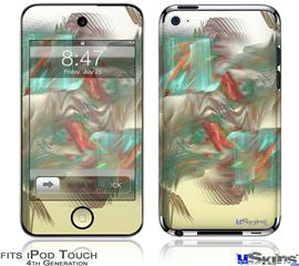 iPod Touch 4G Decal Style Vinyl Skin - Diver