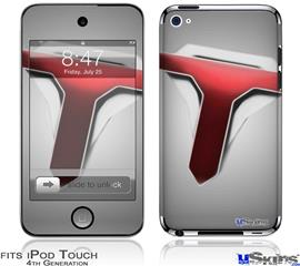 iPod Touch 4G Decal Style Vinyl Skin - The Tune Army on Grey