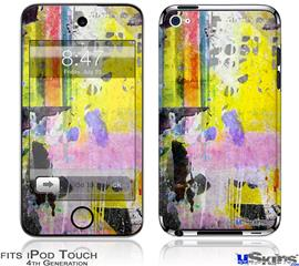 iPod Touch 4G Decal Style Vinyl Skin - Graffiti Pop
