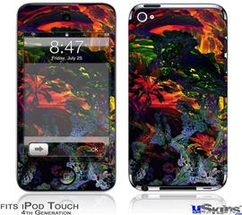 iPod Touch 4G Decal Style Vinyl Skin - 6D