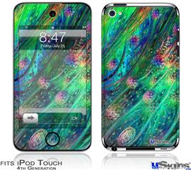iPod Touch 4G Decal Style Vinyl Skin - Kelp Forest