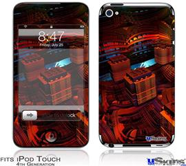 iPod Touch 4G Decal Style Vinyl Skin - Reactor