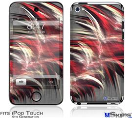 iPod Touch 4G Decal Style Vinyl Skin - Fur