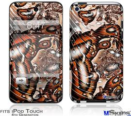 iPod Touch 4G Decal Style Vinyl Skin - Comic