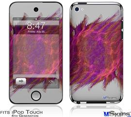 iPod Touch 4G Decal Style Vinyl Skin - Crater