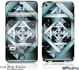 iPod Touch 4G Decal Style Vinyl Skin - Hall Of Mirrors