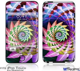 iPod Touch 4G Decal Style Vinyl Skin - Harlequin Snail
