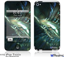 iPod Touch 4G Decal Style Vinyl Skin - Hyperspace 06