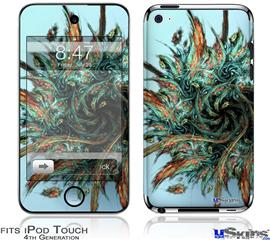 iPod Touch 4G Decal Style Vinyl Skin - Hairball