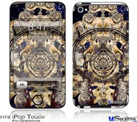 iPod Touch 4G Decal Style Vinyl Skin - Iterative Shrine