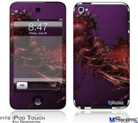 iPod Touch 4G Decal Style Vinyl Skin - Insect