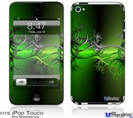 iPod Touch 4G Decal Style Vinyl Skin - Lighting