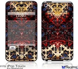 iPod Touch 4G Decal Style Vinyl Skin - Nervecenter