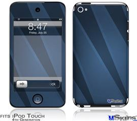 iPod Touch 4G Decal Style Vinyl Skin - VintageID 25 Blue