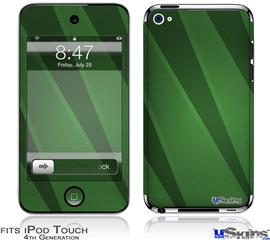 iPod Touch 4G Decal Style Vinyl Skin - VintageID 25 Green