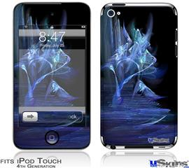 iPod Touch 4G Decal Style Vinyl Skin - Midnight