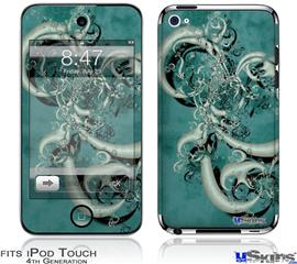 iPod Touch 4G Decal Style Vinyl Skin - New Fish